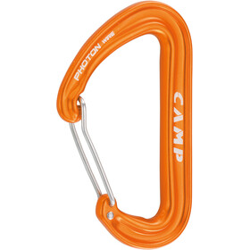 Camp Photon Wire Carabiner orange